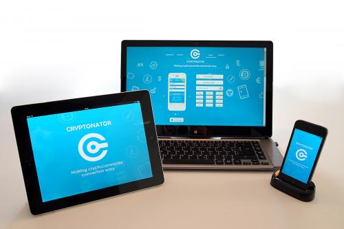 Cryptonator app for iPhone and iPad'