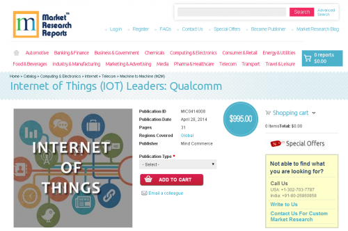 Internet of Things (IOT) Leaders - Qualcomm'