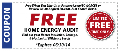Free Energy Audit When You Like Us On Facebook!'