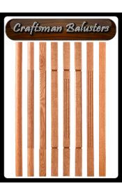 quality wood balusters