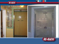 REBATH Full Shower and Baths done in 1 to 2 days