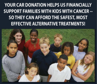Your Car Donation Helps Us Help Kids With Cancer
