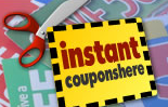 Instant Coupons Here'