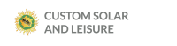 Custom Solar and Leisure Logo