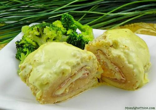 Easy Chicken Cordon Bleu'
