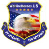 Company Logo For We Hire Heroes'