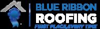 Blue Ribbon Roofing Logo