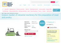 Greece - Market of Industrial Machinery for the Preparation