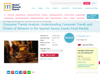 Savory Snacks Food Market - Consumer Trends Analysis