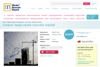 Greece ready-mixed concrete market