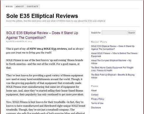 Elliptical Consumers Inc'