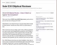 Elliptical Consumers Inc
