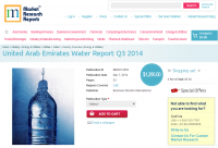 United Arab Emirates Water Report Q3 2014