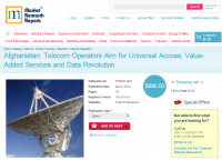 Afghanistan Telecom Operators Aim for Universal Access