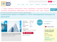 Construction sector in Poland H1 2014