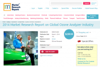 2014 Market Research Report Global Ozone Analyzer Industry