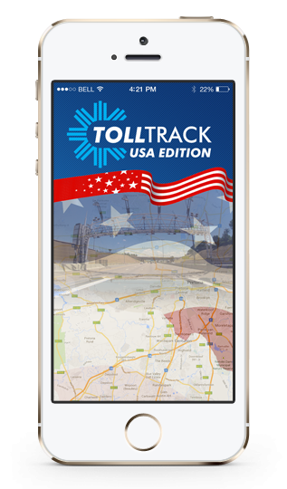 Toll Track USA iPhone 5s Splash Screen