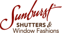 Sunburst Shutters Southern California Logo