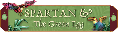 Spartan and The Green Egg Logo