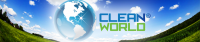 Clean World Banner