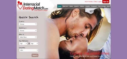 InterracialDatingMatch.com - Home Page'