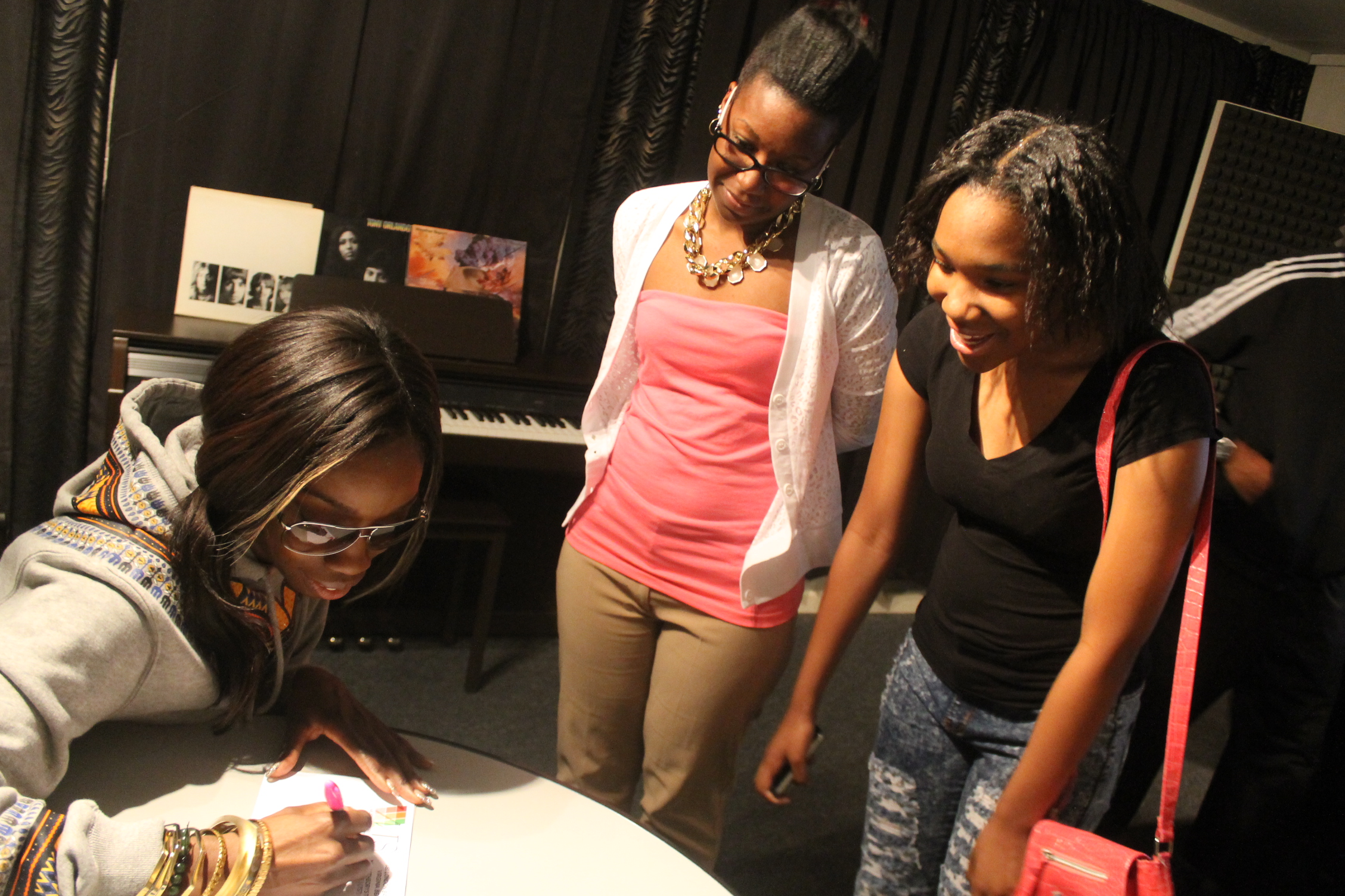 Music Theory Studios Estelle Meet & Greet May 2014