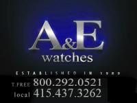 A & E Watches Logo