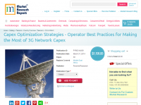 Operator Best Practices for Making the Most of 3G Network Ca