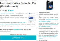 Leawo Video Converter Pro Giveaway