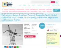 Hydropower in Spain, Market Outlook to 2025, Update 2014
