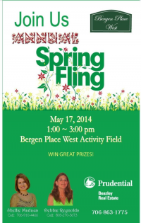 Bergen Place West Hosts Annual Spring Fling