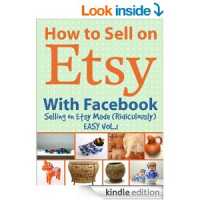 New eBook Revals How to Sell on Etsy - One Facebook Like at