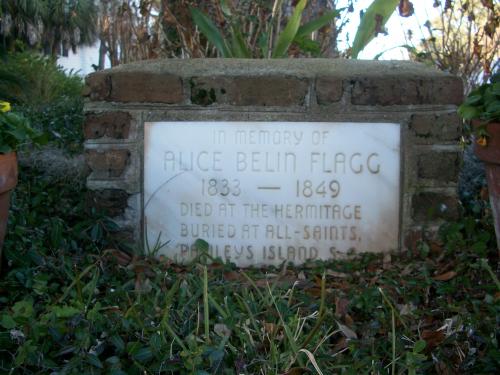 Original 1849 Grave, The Hermitage'