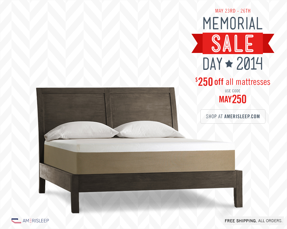 Amerisleep Announces Memorial Day Mattress Sales Event for 2