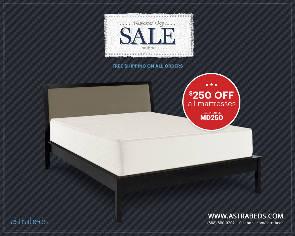 Astrabeds' 2014 Memorial Day Mattress Sale Event R