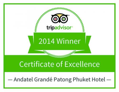 Andatel Grandé Patong Phuket Hotel'