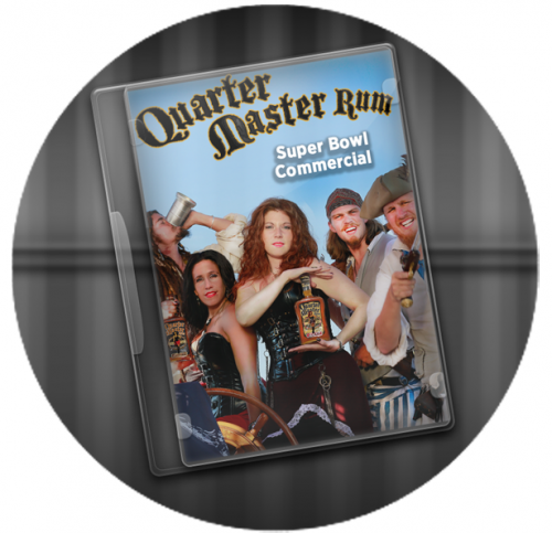 Quarter Master Rum Inc. Super Bowl Commercial Launch'