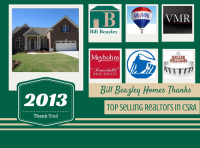Bill Beazley Homes Thanks Top Selling Realtors in CSRA