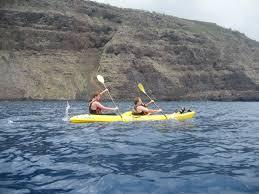 canoeing'