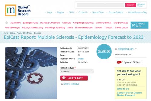 Multiple Sclerosis - Epidemiology Forecast to 2023'