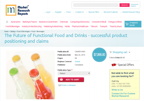 Future of Functional Food and Drinks'