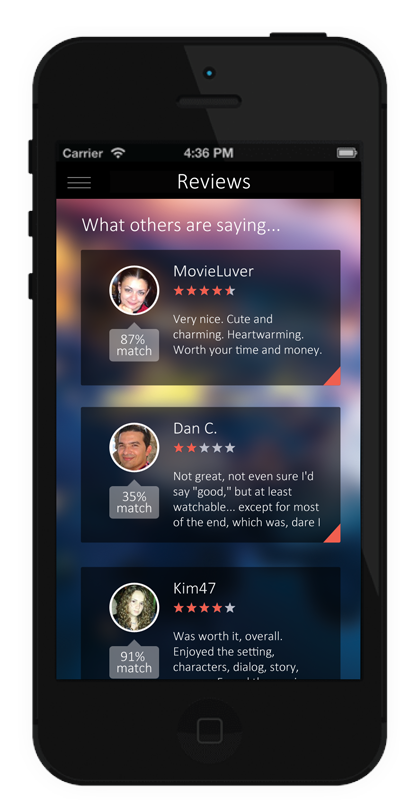 Team Review Ringer Starts  New Movie Ratings and Reviews App'