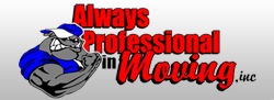 Company Logo For Always Professional in Moving'