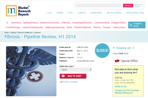 Fibrosis - Pipeline Review, H1 2014'