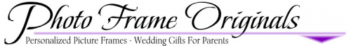 Company Logo For Personalized Picture Frame Wedding Photo Fr'