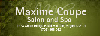 Maxime Coupe Salon and Spa Logo