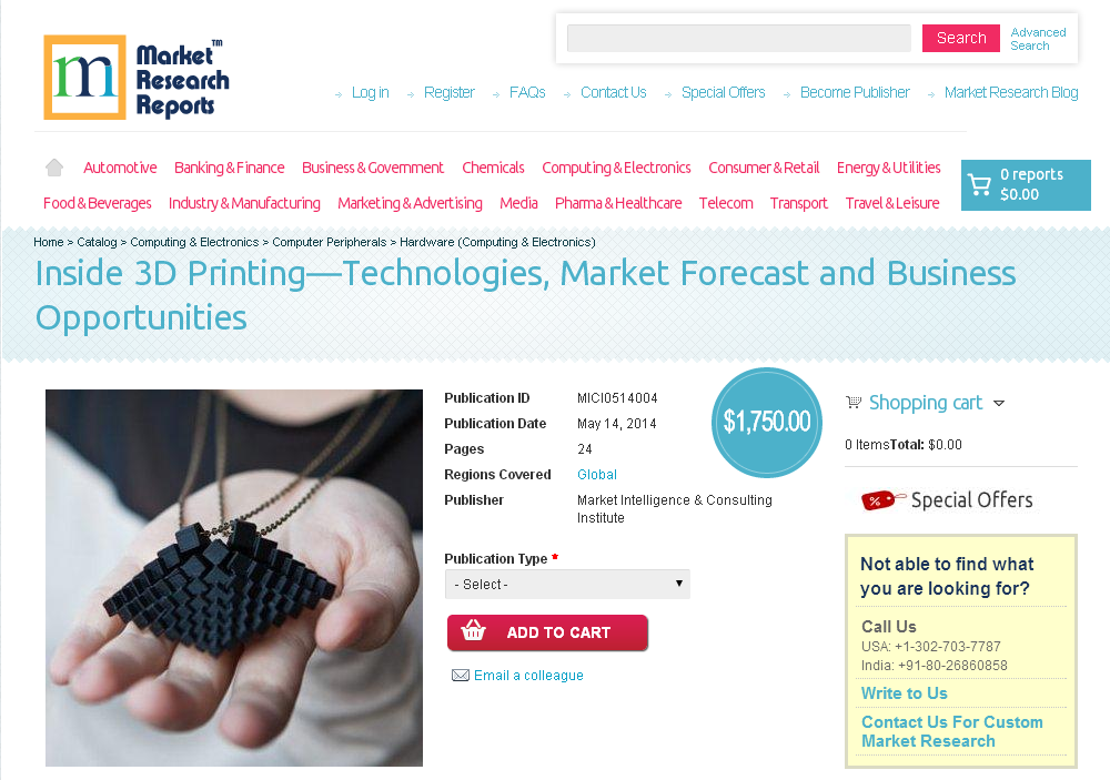 top report inside 3d printing technologies market forecast