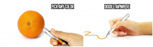 Pick any color and draw using that color'
