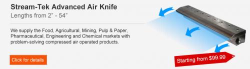 air knife'