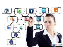 social media'